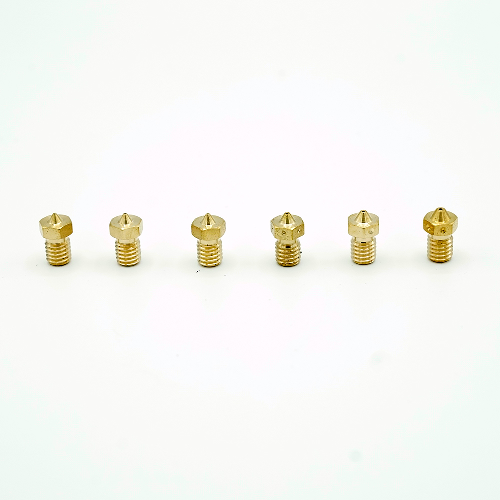 Brass Extruder Nozzles